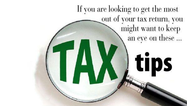 2018 Tax Return Tips